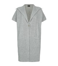 Escada Stalla Cashmere Cardigan Female Grey