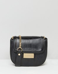 Carvela Mini Cross Body Bag Black
