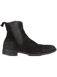 Guidi Slip On Ankle Boots Black