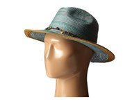 San Diego Hat Company Mxm1023 Panama Fedora Hat With Beaded Trim Teal Fedora Hats Blue