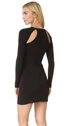 Elizabeth And James Priscilla Cut Out Dress Black