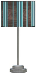 Jefdesigns Stripey Vertical Table Lamp