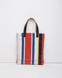 Marni Woven Shopping Bag Hot Red