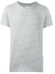 Bellerose Short Sleeve T Shirt Grey