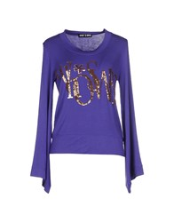 Who S Who Topwear T Shirts Women Purple