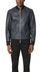 Theory Malone Variet Bomber Jacket Night