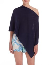 Lilly Pulitzer Bayshore Sweater Wrap True Navy