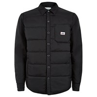 Penfield Albright Insulated Shirt Jacket Black