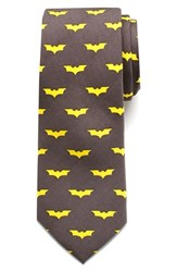 Boy's Cufflinks Inc. 'Batman' Silk Tie