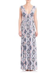 Tart Grecia Deep V Gown Stained Glass