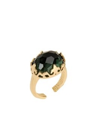 Nadine S Rings Green
