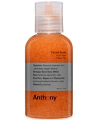 Anthony Logistics For Men Receive A Complimentary 2 Oz Facial Scrub With Any 50 Anthony Skincare Purchase