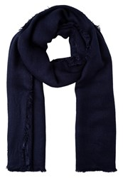 Esprit Scarf Navy Dark Blue Denim