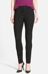 'Super Smooth' Stretch Skinny Jeans Black Nordstrom Exclusive