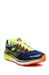 Saucony Triumph Iso Running Shoe Wide Width Blue