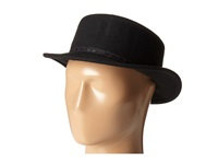 Bcbgeneration Stitched Boater Hat Black Traditional Hats