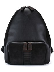 Salvatore Ferragamo 'Vertebra' Backpack Brown