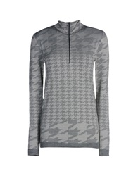 Adidas By Stella Mccartney Turtlenecks Grey