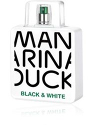 Mandarina Duck Men's Black And White Edt Colorless No Color