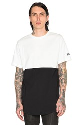 Black Scale Essential Baseball Tee Black And White