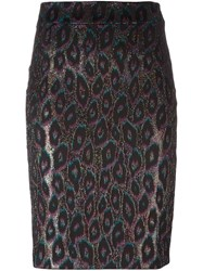 Roseanna 'Leo' Pencil Skirt Black