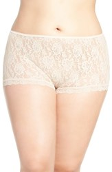 Hanky Panky Plus Size Women's High Waist Boyshorts Chai