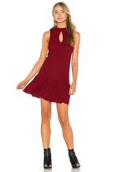 Somedays Lovin West Virginia Dress Burgundy