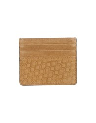 Pierre Hardy Small Leather Goods Document Holders Men Camel