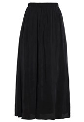 American Vintage Nowichurch Maxi Skirt Carbone Anthracite