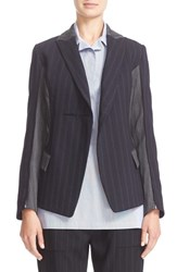 Victor Alfaro Women's Patchwork Stretch Wool And Mohair Jacket