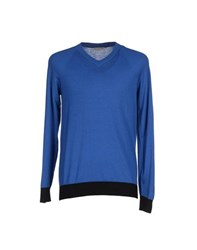 Balenciaga Knitwear Jumpers Men Blue