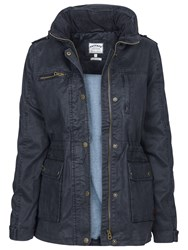 Fat Face Sussex Four Pocket Shell Jacket Navy