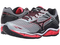 Mizuno Wave Enigma 6 Quarry Diva Pink Black Women's Running Shoes Gray