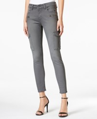 M1858 Kristen Cargo Gray Wash Skinny Jeans Only At Macy's Dove