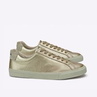 Veja Esplar Leather Gold Shoes