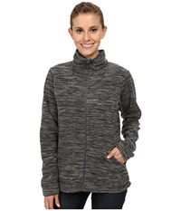 Mountain Hardwear Snowpass Full Zip Fleece Heather Black Women's Fleece