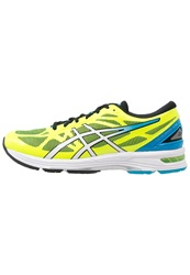 Asics Gelds Trainer 20 Nc Lightweight Running Shoes Flash Yellow White Turquoise Neon Yellow