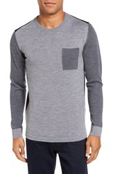 Slate And Stone Men's Colorblock Merino Wool Sweater