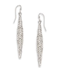 Catherine Stein Pave Drop Earrings