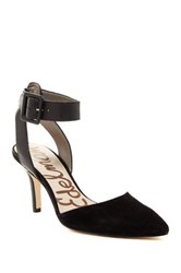 Sam Edelman Okala Suede Pump Wide Width Available Black