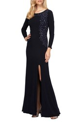 Alex Evenings Women's Embellished Gown