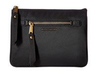 Marc Jacobs Trooper Flat Cosmetics Pouch Black