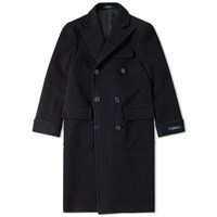 Polo Ralph Lauren Classic Double Breasted Coat Black