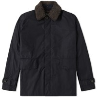 Barbour Arding Wax Jacket Blue