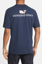 Vineyard Vines Graphic T Shirt Vineyard Navy