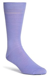Men's Lorenzo Uomo Merino Wool Blend Socks Purple 3 For 30 Lavender