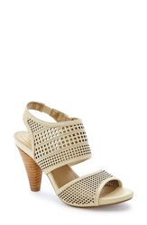 Women's Me Too 'Dixie' Sandal Opal White Leather