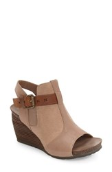 Otbt Women's Arcadian Wedge Sandal Pecan Leather