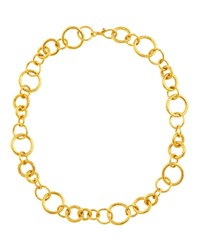 Gurhan Hoopla Collection 24K Gold Chain Necklace 18 L