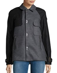 Sorel Aylwin Down Lined Short Trench Coat Charcoal